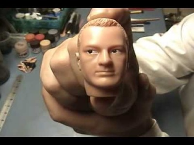 "1:6 Head Sculpt Repaint : The Complete Guide to 1:6 Modeling  ""How To"""