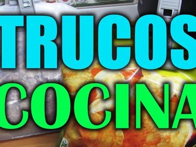 10 Trucos Faciles en la Cocina. Easy Kitchen Hacks