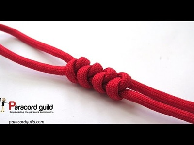 2 strand wall knot