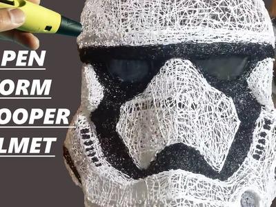 3D  Pen: Stormtrooper Helmet