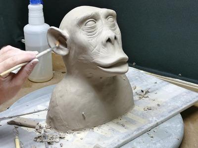 Air Dry Sculpting, part 5. Now even Monkey(er) then b4