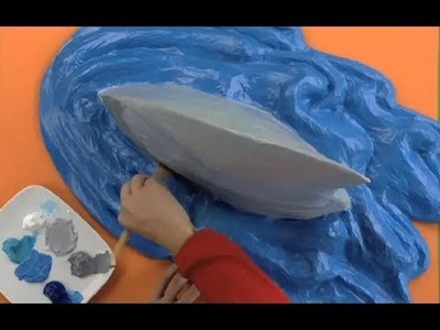 Art Attack - How To Make A SHARK FIN | Amazing! - Disney India (Official)