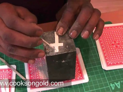 Art Clay Project: Cross Pendant