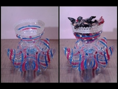 Best Out Of Waste Plastic Decorative Candy Cup
