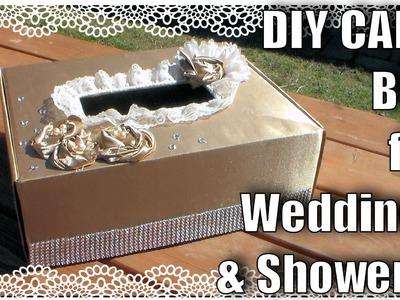 Card Box For Weddings or Showers. DIY Wedding