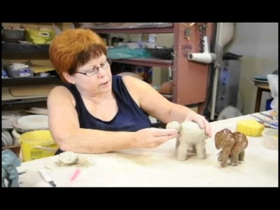 Claytime with Liz: Project 1, Pinchpot Elephant