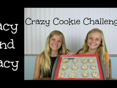 Crazy Cookie Challenge ~ Jacy and Kacy