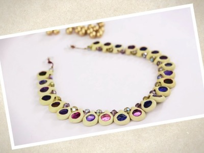 Create A Pretty Necklace Using Shilpkar!