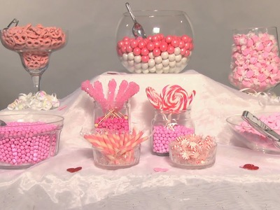 Create the Perfect Wedding Candy Buffet | Groovy Candies