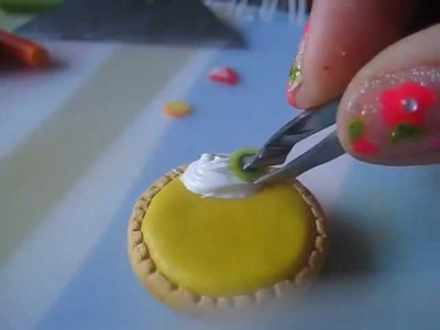 ✦Cute Fruit Custard Tart Tutorial✦