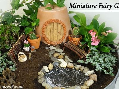 Cute Miniature Fairy garden - Tutorial