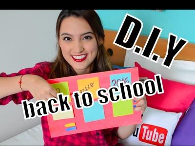 DIY REGRESO A CLASES Y ORGANIZACIÓN - BACK TO SCHOOL Brújula de la Moda by Tati Uribe