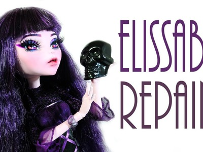 Elissabat Doll Repaint [MONSTER HIGH]