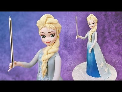 Free Frozen Elsa Cake Tutorial