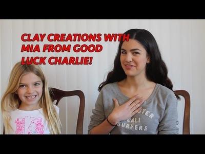 Good Luck Charlie- Mia Talerico Clay Tutorial