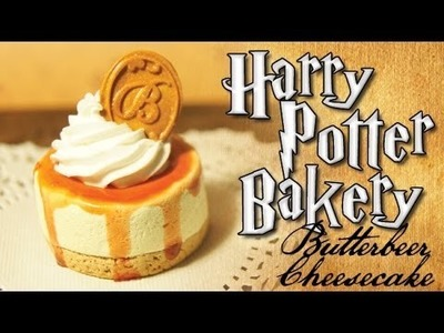 Harry Potter Clay Bakery: Butterbeer Cheesecake