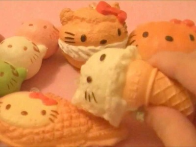 Hello-Kitty Re-ment Squishies