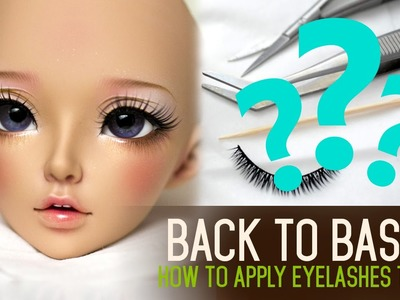 How to apply eyelashes - Back to Basics ep02