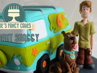 How to make a fondant Shaggy from Scooby-Doo How to Cake Decorating Tutorial