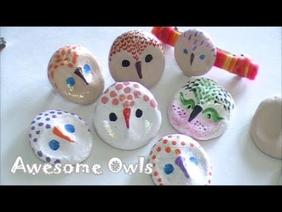 How to Make A Owl Brooch, Ring and More