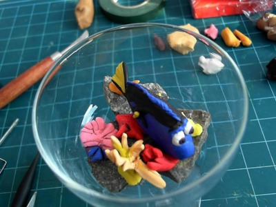How to make Finding Dory with clay