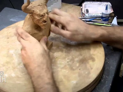 HOW TO SCULPT A SATYR - MONSTER MONTH - DAY 12