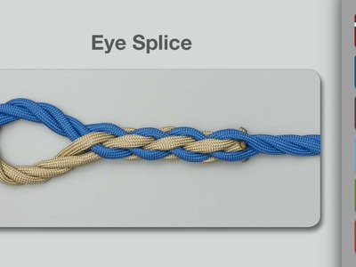 How to Tie an Eye Splice
