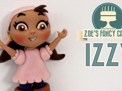 IZZY CAKE TOPPER Jake and the Never Land Pirates fondant model