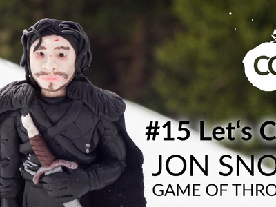 JON SNOW (Game of Thrones) – Polymer Clay Tutorial