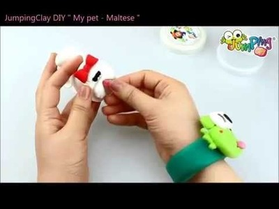 Jumping Clay Tutorial - How to make a Maltese