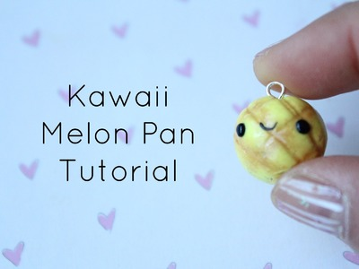 Kawaii Melon Pan Tutorial