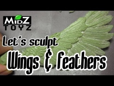 Let's sculpt something: Wings & feathers
