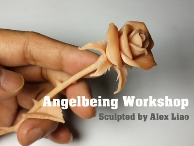 Making basic rose sculpture tutorial