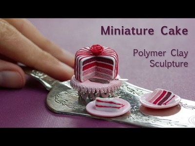 Miniature Cake Tutorial and Tips for Perfect Clay Icing