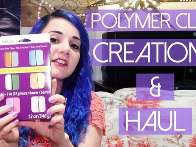 My Polymer Clay Creations & Clay Haul [My Life]