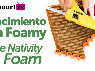 Nacimiento en Foamy ( Holy Family Christmas Foam ) 2.4