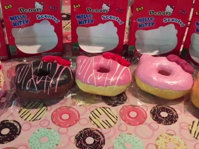 New Hello Kitty Squishy Donuts From Creamii Candy
