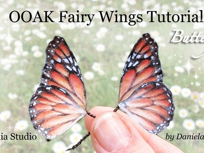 OOAK Fairy Wings Tutorial: Butterfly - Ali per Fatine: Farfalla
