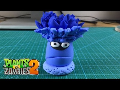 Play doh How to Make Blue Torch Tree - Plants Vs Zombies 2