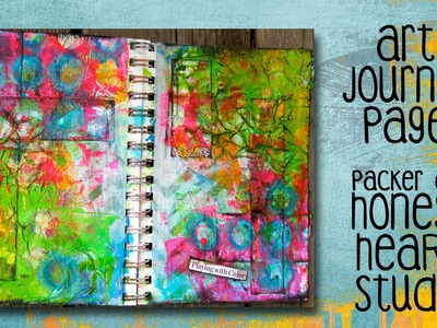 Playing with Color - Art Journal Page