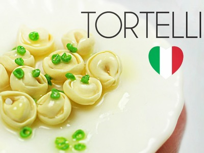 Polymer clay Tortellini TUTORIAL | polymer clay food
