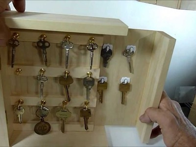 Secret Key Cabinet with