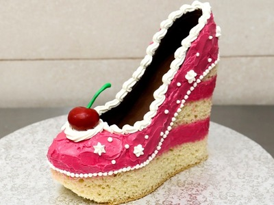 Shoe Cake Idea - How To Make by CakesStepbyStep