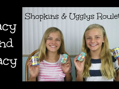 Shopkins & Ugglys Roulette Challenge ~ Jacy and Kacy