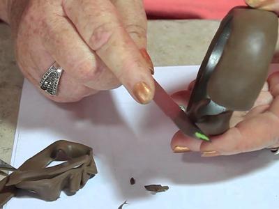 Souffle Carved Leaf Bracelet