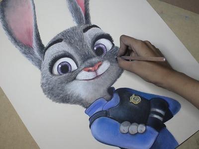 Speed Drawing: Judy Hopps (Zootopia) | Diana Díaz
