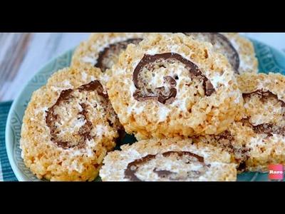 Sweet Crispy S'mores Dessert Sushi | Rare Life