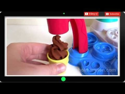 Toys Play Doh modeling clay play doh Magic Swirl Ice Cream Shoppe Unboxing
