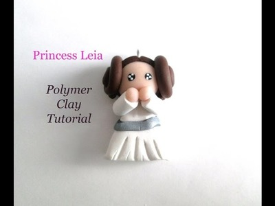Tuto Fimo Polymer Clay Star Wars Princess Leia