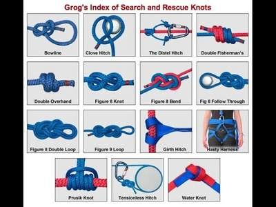 Useful Knots To Know - 10 Most Useful Knots - Knots Knots 2015
